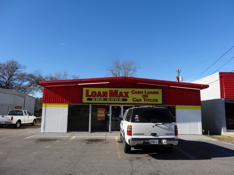 Loanmax Title Loans In Hattiesburg Mississippi On 507 Broadway Drive